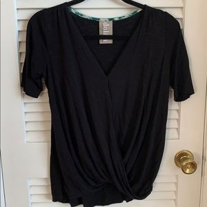 Anthropologie Dolan Cross Front Tee